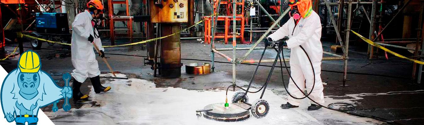 Biorremediación y limpieza industrial